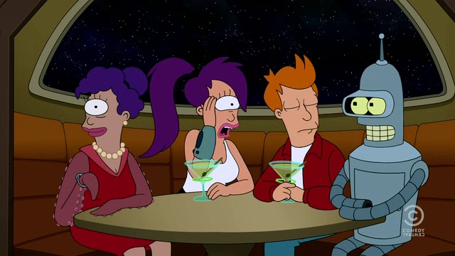 This Futurama episode includes everything you never want your mom to say