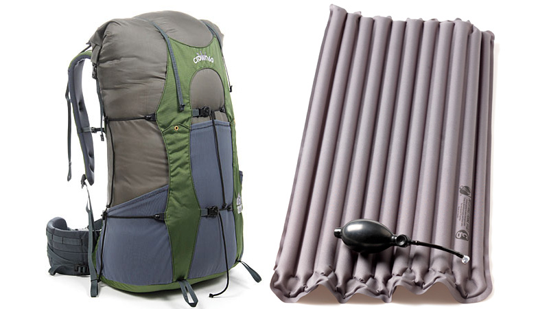 Click here to read This Tiny Air Mattress Will Replace Your Backpack's Heavy Frame