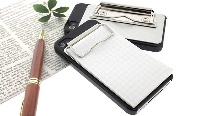 Click here to read Binder Clip Case Boosts Your iPhone's Note Taking Capabilities
