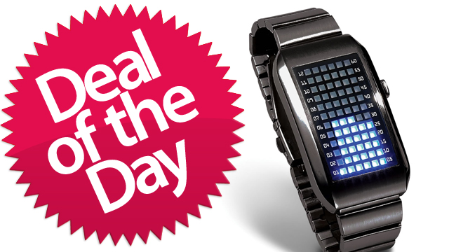 Click here to read This LED Matrix Watch Is Your Complicated-Math-Bling Deal of the Day
