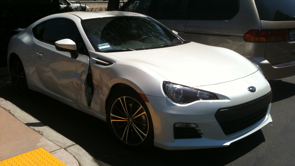 Is This The First Crashed Subaru BRZ In The US?