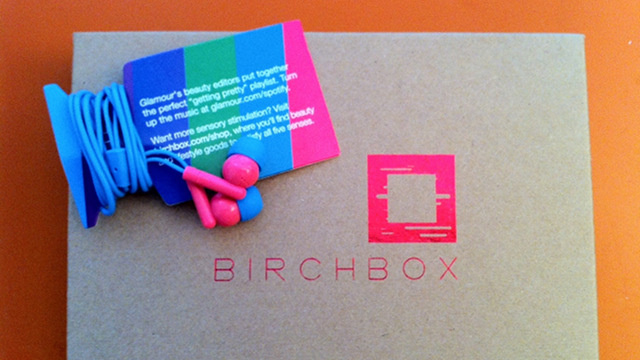 Birchbox: At Least Those Crappy Earbuds Are Cute!