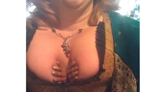All You Need to Know About Renaissance Faires Is Contained In This Weird Boob Accessory