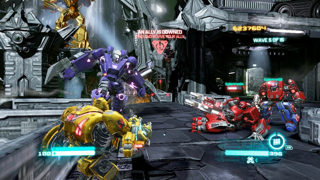 The Tank Class in Fall of Cybertron's Multiplayer Is, Erm, a Tank