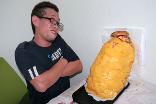 A Whopper with 1,000 Slices of Cheese Will Horrify and Disgust You