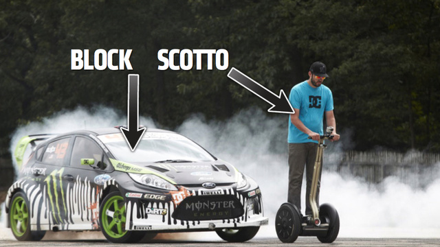 Ask Gymkhana 5 Star Ken Block (And Segway Dude) Anything You Want