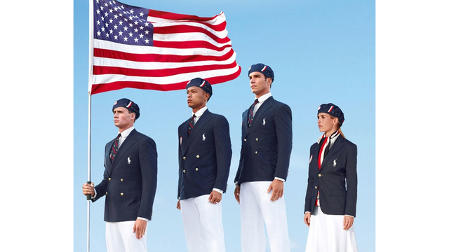 America's Patriotic Ralph Lauren Olympic Uniforms Were Made in China