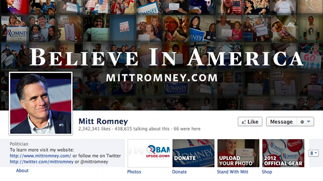 Click here to read Mitt Romney Breaks Facebook Rules With Self-Promoting Cover Photo