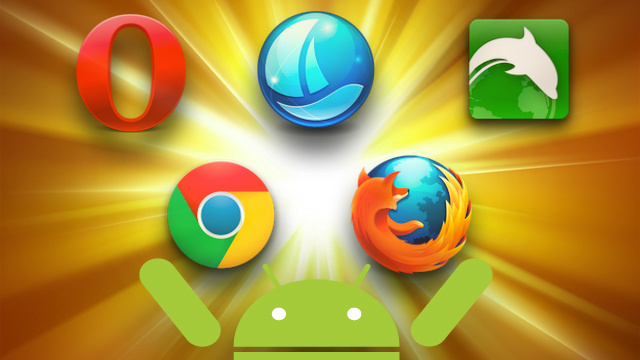 Five Best Android Web Browsers