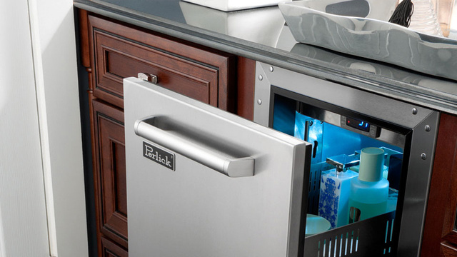 Refrigerated Bathroom Drawers For When You Think You Might Be In There a While