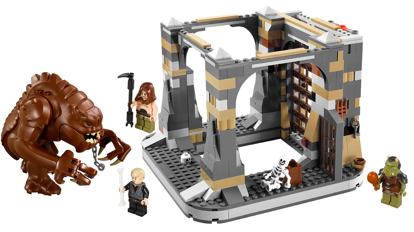 Click here to read Lego Star Wars Rancor Pit Set Needs a Slave Leia Minifig—Urgently