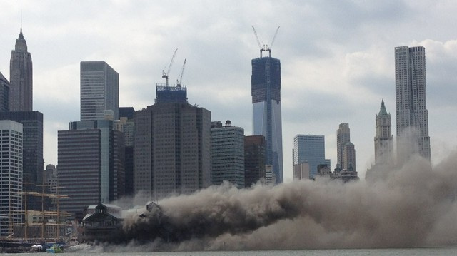 South Street Seaport on Fire (UPDATED)