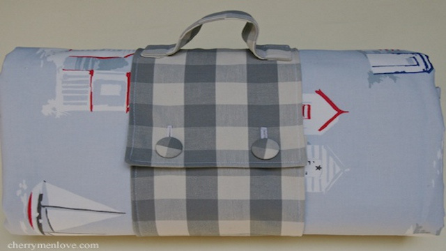 Click here to read Make a Picnic Blanket Tote
