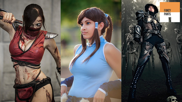 Cosplaying Korra Almost Looks Impressed by Heavenly Sword, Skyrim & Final Fantasy Outfits