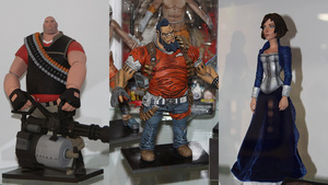 Great Pics of New Team Fortress, BioShock Infinite, Borderlands 2 Figures