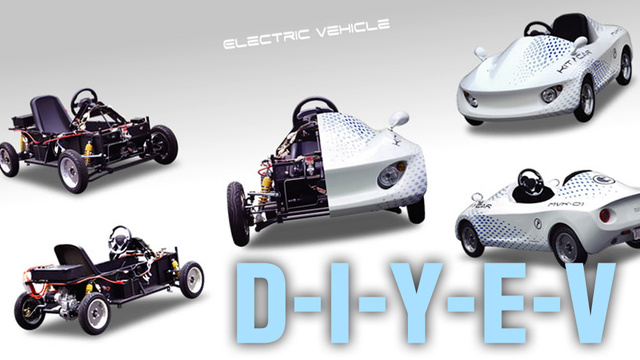 Japanese Release Build Your Own Electric Car Kit