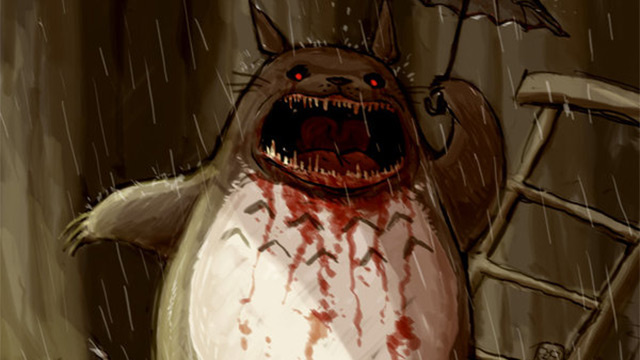 Totoro Isn't All Cute. For Some, He's the God of Death.