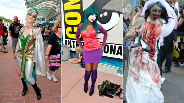 The Wild, Weird and Wonderful Women of Comic Con