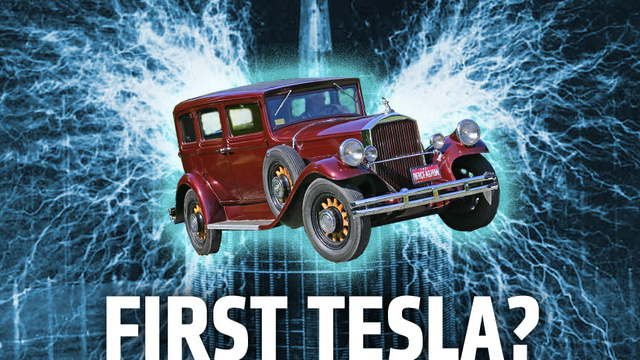 Nikola Tesla's Mysterious Electric Car Had No Batteries (And Probably Didn't Exist)
