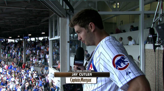 "Jay Cutler: I AM SO JACKED UP FOR ""TAKE ME OUT TO THE BALLGAME"""