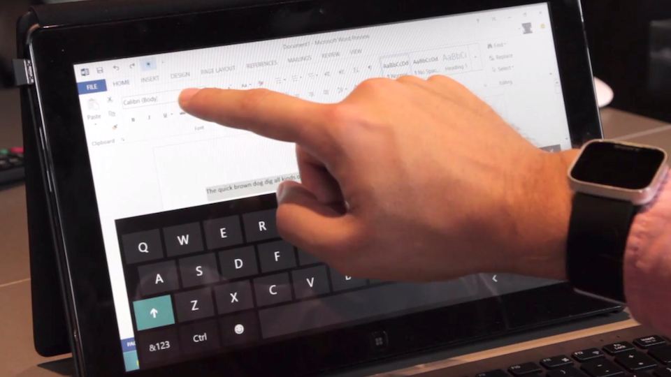 Hands On The New Microsoft Office: It's Finally Getting Better [Video]