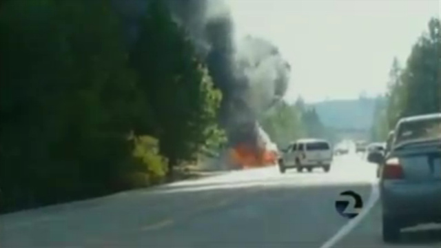 A Hero FedEx Driver Rescued A Woman From An Exploding Car