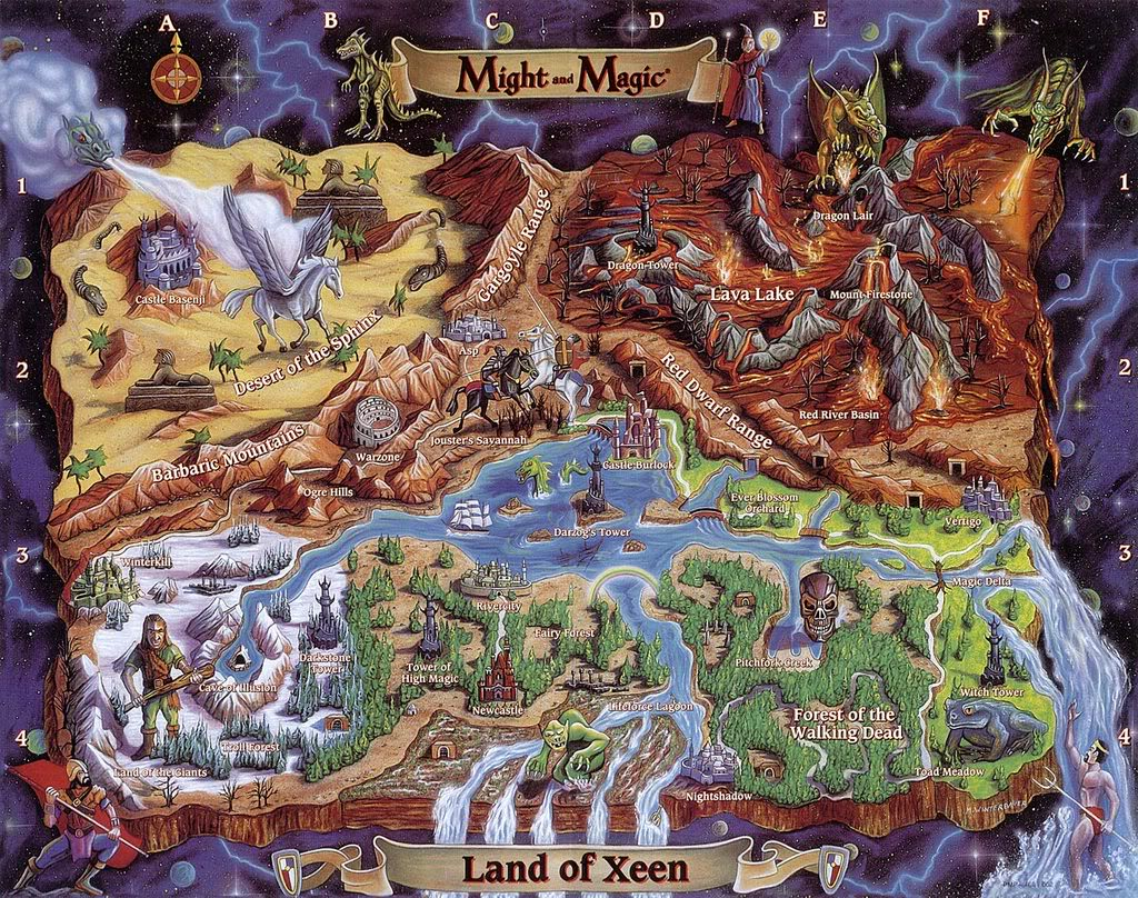 A tribute to old video game maps kotaku australia post awesome adventure game maps neogaf gumiabroncs Images
