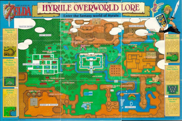 A Tribute to Old Video Game Maps