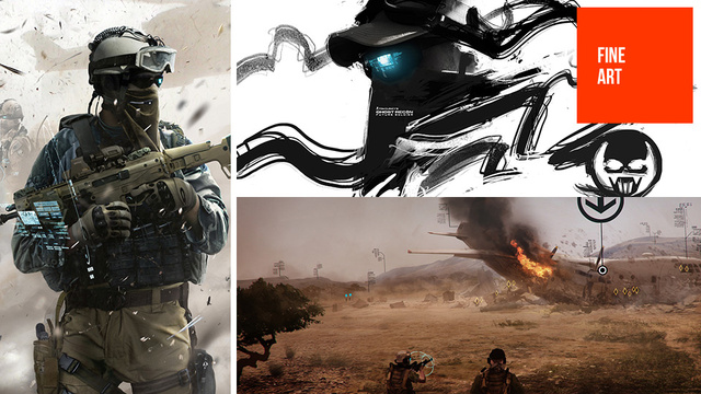 Modern Shooters Can Look Pretty (at Least, Their Concept Art Can)