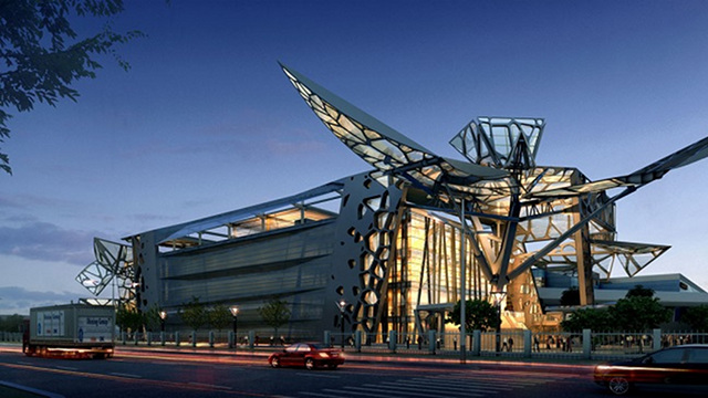 Click here to read This Actual Corporate HQ Transforms Like an Actual Transformer