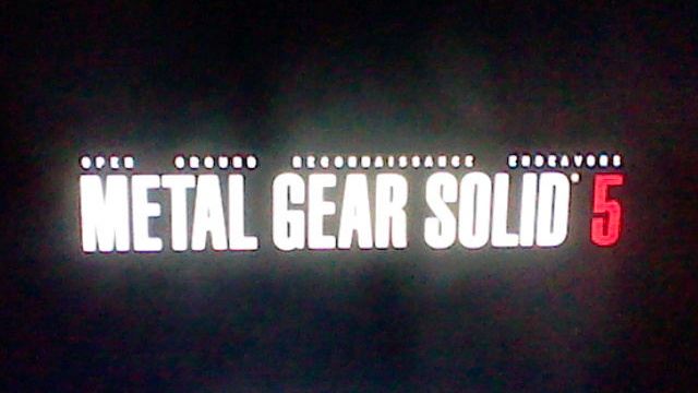 Nice Guy Hideo Kojima Apologizes for Fake Metal Gear Solid 5 Logo