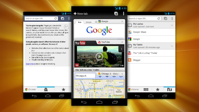 Click here to read Most Popular Android Web Browser: Chrome