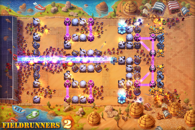 Fieldrunners 2 Takes the iOS Field on July 19