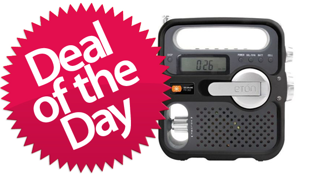 This Eton American Red Cross Emergency Radio Is Your Life-Saving Emergency Broadcast Deal of the Day [Dealzmodo]