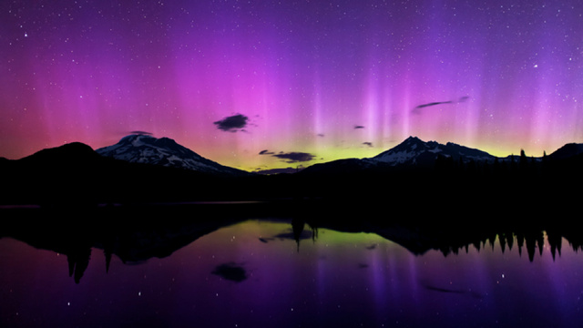 Views of the Northern Lights don't get much better than this