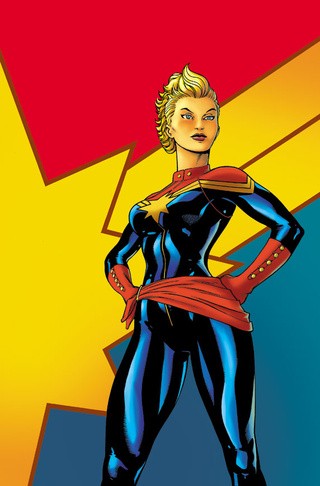 This Wednesday, a new (and old) Captain Marvel hits comic shops