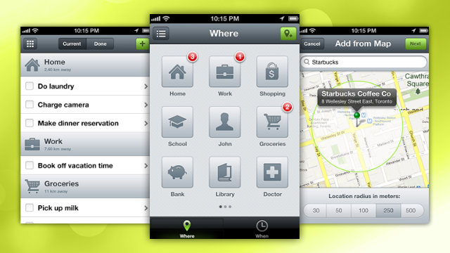 Click here to read Checkmark Creates Location-Based Reminders in Three Taps, Is What iOS' Reminders Should Have Been