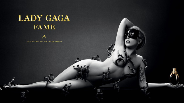 Lady Gaga's New Perfume Ad Features Tiny Men Exploring All Her Orifices