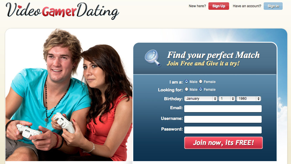 Dating site for gamers australia