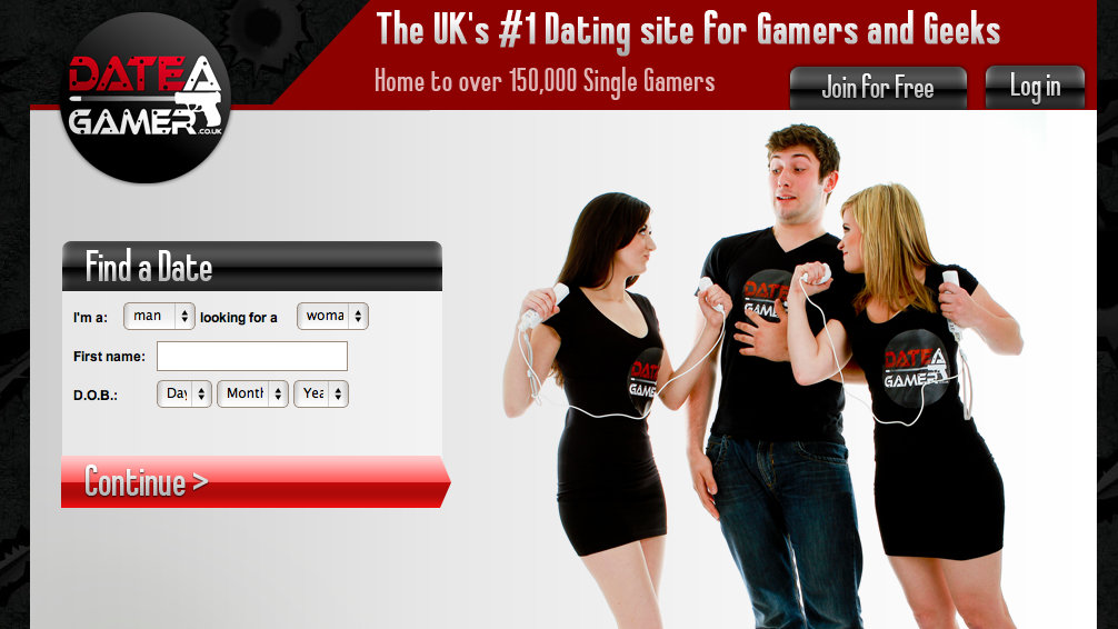 Video gamer dating website
