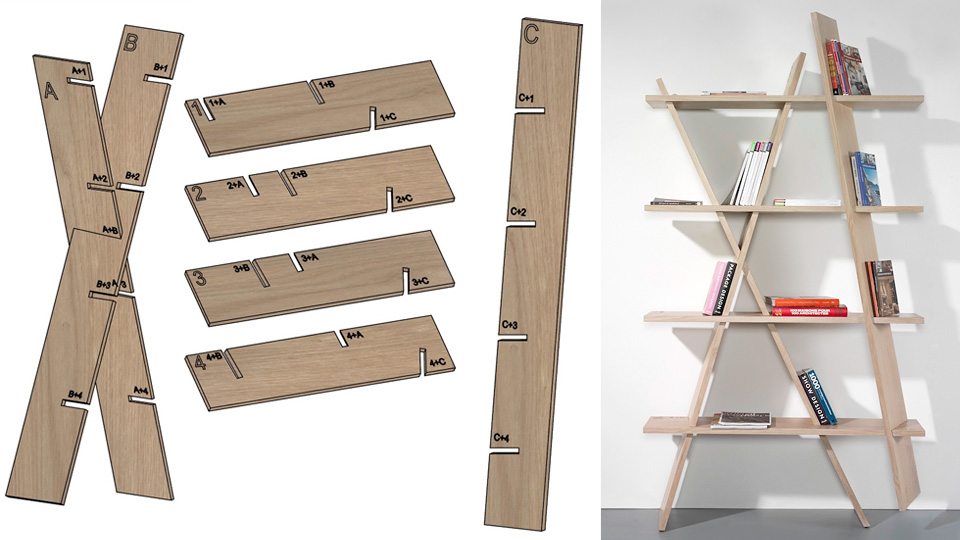 You'll Never Forget How To Build A Bookshelf With Plans Carved