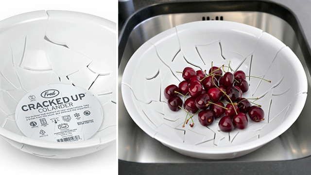 You'll Never Have To Worry About Breaking This Pre-Shattered Colander