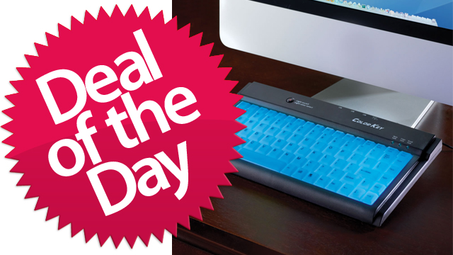 The Illuminated Keyboard Is Your I'd-Buy-That-If-I-Were-Drunk Deal of the Day [Dealzmodo]