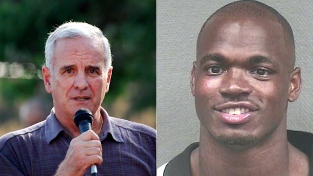 Minnesota Governor Says Football Players Get Arrested Because They're Basically Soldiers Returning From War