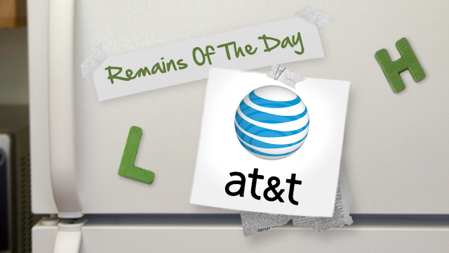 Click here to read Remains of the Day: AT&amp;T Shared Data Plans Coming in August