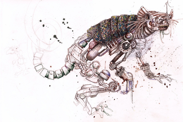 What if the entire animal kingdom went cybernetic?