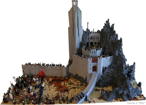 At Dawn, Look to the East for This Incredible Lord of the Rings LEGO Diorama