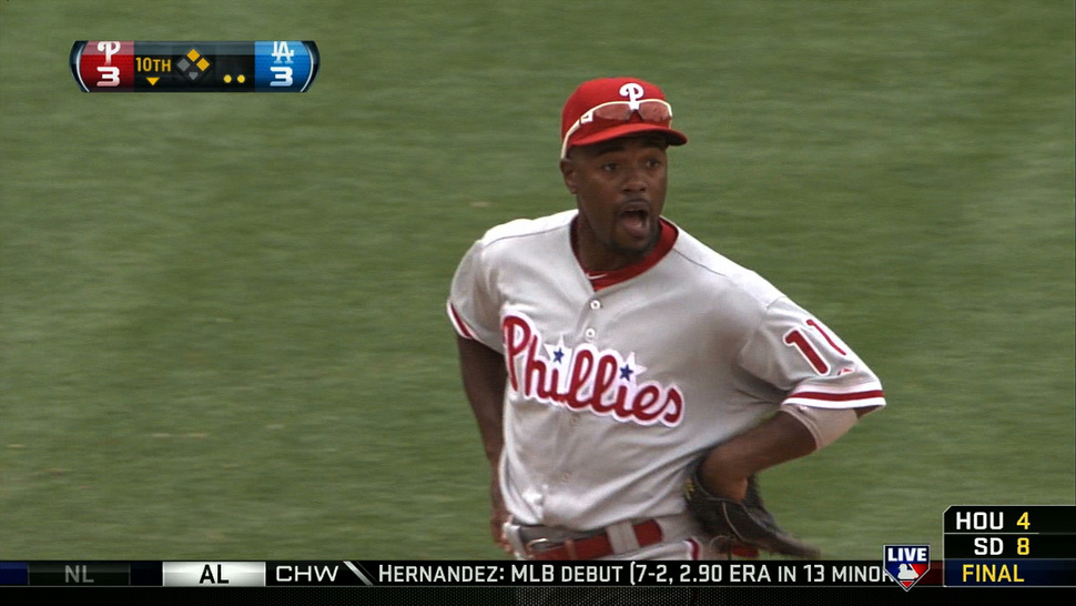 Jimmy Rollins: Sass Machine