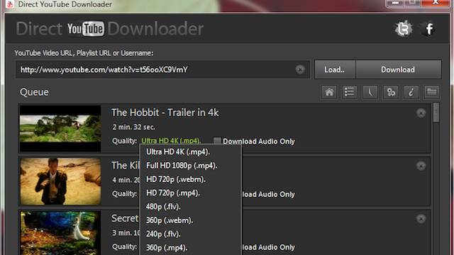 Direct YouTube Downloader Downloads Entire Channels or All Your Favorites in Glorious HD
