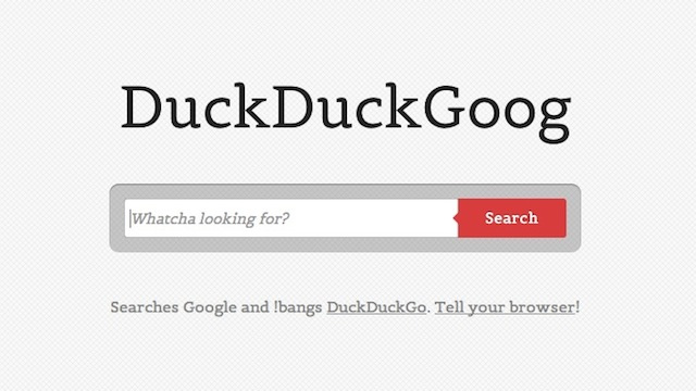 DuckDuckGoog Combines a Great Feature of DuckDuckGo with Google